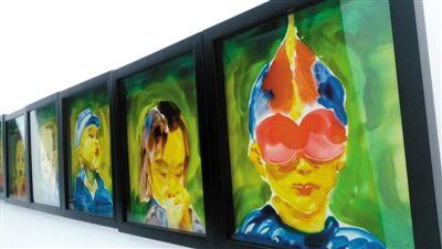 喻紅專門為威尼斯雙年展平行展創作的作品《一道風景》(局部)。