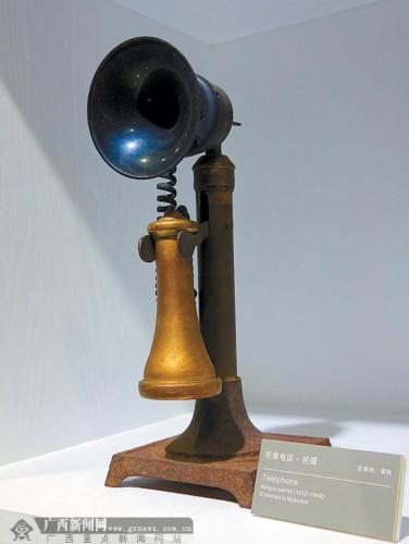民国年代的听筒电话