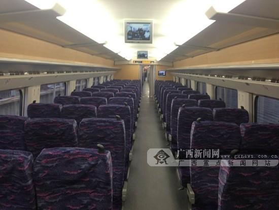 南广高铁广西段即将开通 南宁--梧州全程约2小时