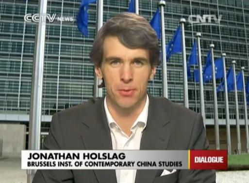 Jonathan Holslag, Brussel
