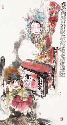 中国意象 当代中国水墨与雕塑艺术展 亮相法国