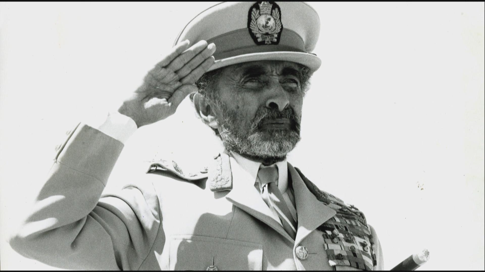 Emperor Haile Selassie of Ethiopia. He was the last Emperor. He died in 1975.