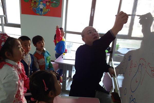 景绍宗:从民俗创作到儿童教学