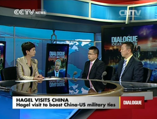 Dialogue 04/08/2014 Hagel visits China