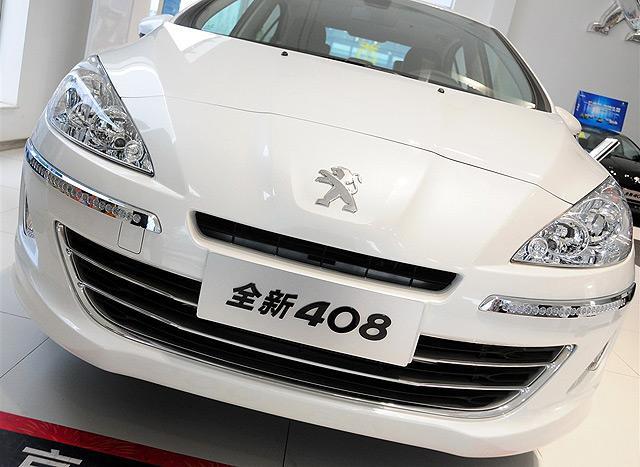 现售的东风标致408车型-换代东风标致408换装1.6T发动机高清图片