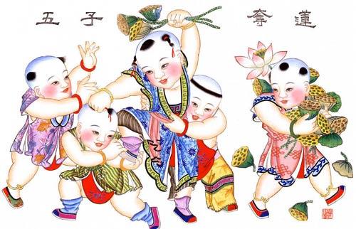 天津市文化标志:杨柳青年画