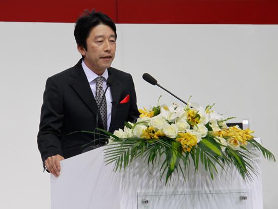 三菱汽车销售(中国)有限公司 总经理 长泽裕之
