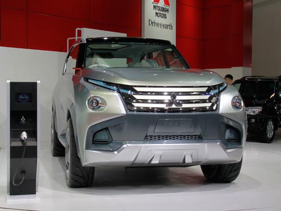 三菱品牌概念电动车