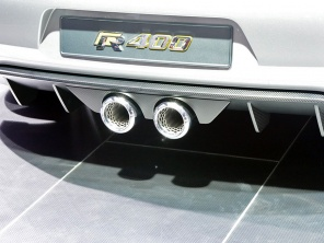 大众高尔夫R400概念车