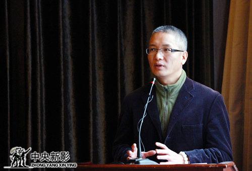 丝瓜成版人性视频app台州市微电影学会副主席陈永军主持大会