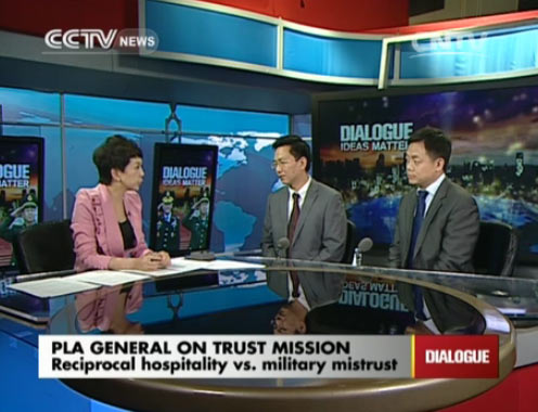 Dialogue 05/16/2014 PLA general on trust mission