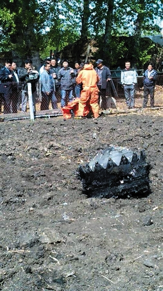 In Northeast China's Heilongjiang province, another three fiery metal objects have been spotted falling from the sky. The Saturday morning sightings come after five other unidentified falling objects were reported a day earlier.