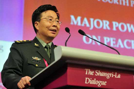 Wang Guanzhong, deputy chief of the General Staff of the Chinese People