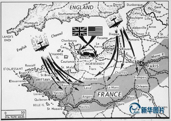 Pour marquer le 70ème anniversaire du débarquement de Normandie, le Musée impérial de la guerre de Londres a rendu publiques des images d