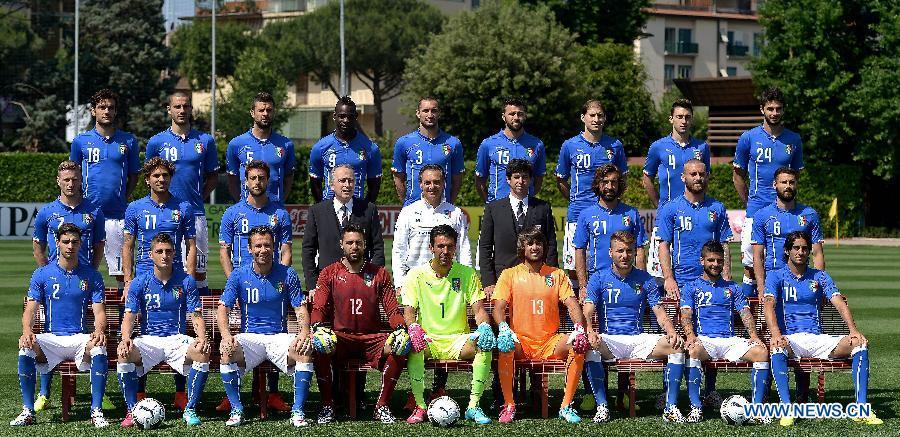 Состав сборной Италии на ЧМ-2014 по футболу