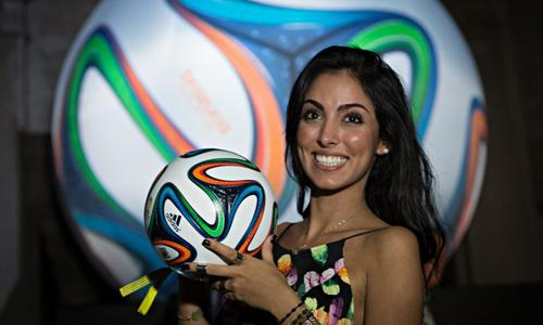 الكرة الرسمية لبطولة كأس العالم 2014 لكرة القدم -- برازوكا