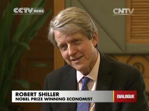 Robert Shiller, Nobel Prize winning economist