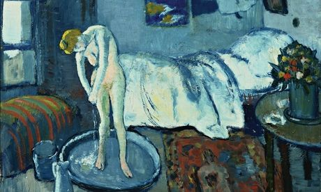 毕加索的《蓝色房间》