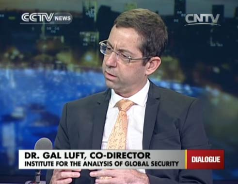 Dr. Gal Luft, co-director of Institute for the Analysis of Global Security