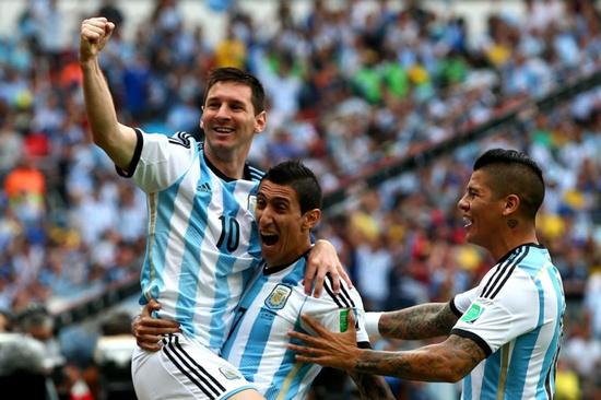 世界杯 梅西梅开二度 阿根廷3 2尼日利亚携手出线