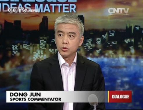 Dong Jun, Sports Commentator