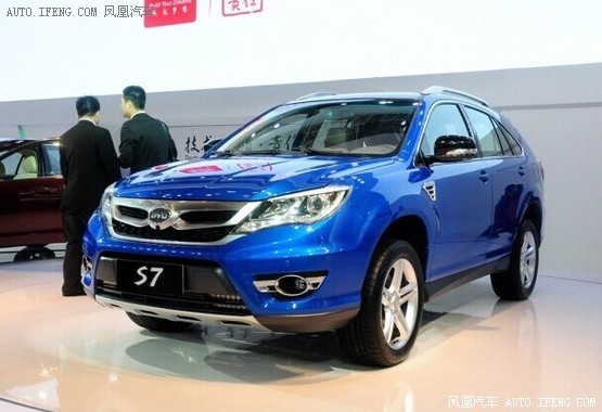 高品质自主SUV前瞻 不畏与合资争市场