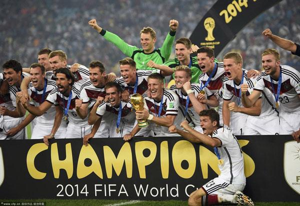 L'Allemagne est championne pour la 4e fois