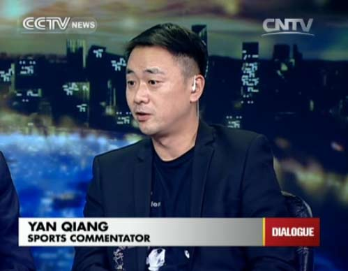 Yan Qiang, Sports Commentator