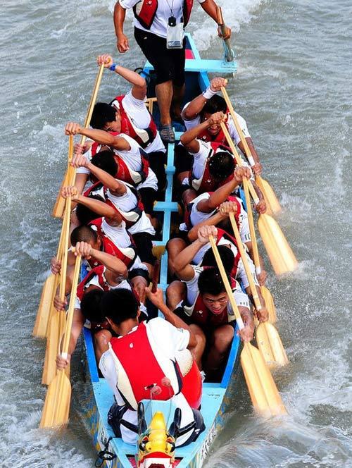 龙舟赛 视频图片 赛龙舟