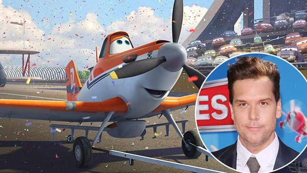 Dane Cook returns to voice Dusty Crophopper, who joins an elite squadron of aerial fire-fighter planes, along with a slew of new characters.