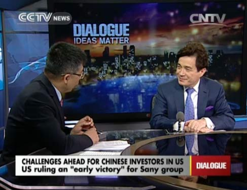 Dialogue 07/30/2014 Chllenges ahead for Chinese investors in US