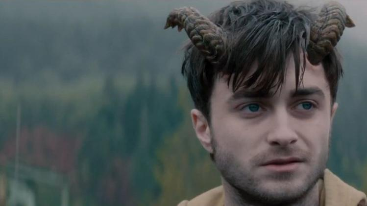 Daniel Radcliffe grows 'Horns'