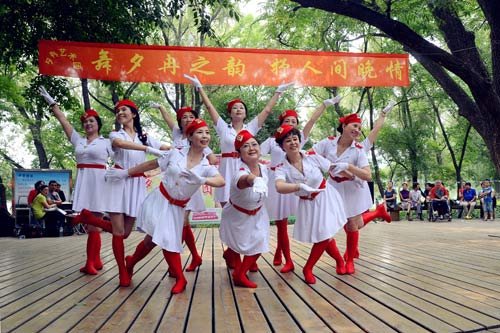 舞蹈家也是孩子妈妈们追求的梦