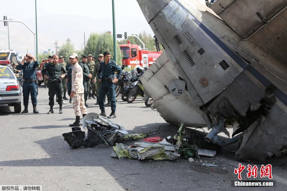 Iranian state television reports that 48 people, including seven children, have been killed in a plane crash in Tehran.