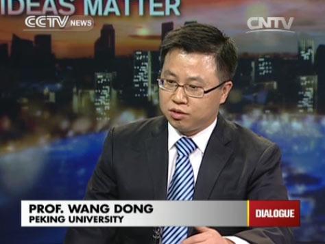 Professor Wang Dong, Peking University