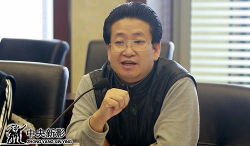 总导演、总制片人杨书华阐述影片创意。