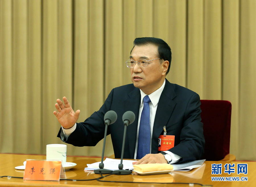 Chinese Premier Li Keqiang, also a member of the Standing Committee of the Political Bureau of the Communist Party of China (CPC) Central Committee, speaks at the Central Economic Work Conference in Beijing, capital of China. The conference was held in Beijing from Dec. 9 to 11, 2014. (Xinhua/Pang Xinglei)