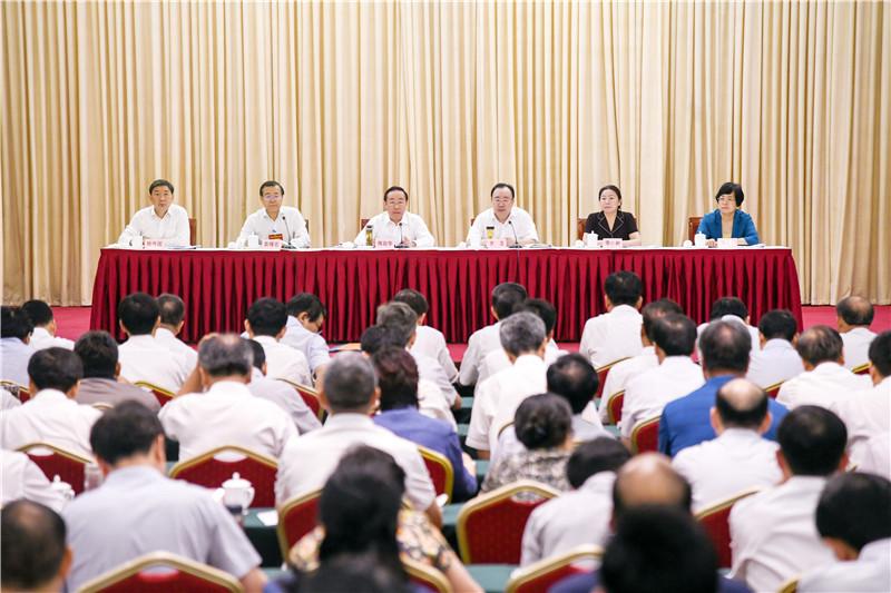 图为全国律师行业党的建设工作座谈会现场。