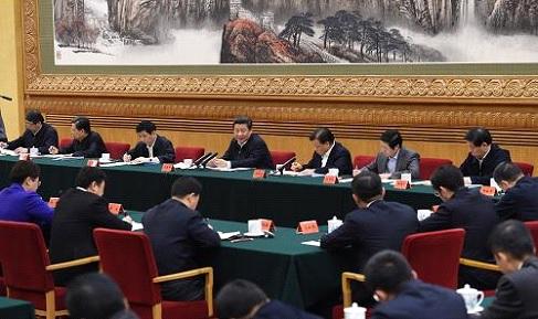 2015年1月12日,习近平在北京主持召开座谈会,同中央党校第一期县委书记研修班学员进行座谈并发表重要讲话。