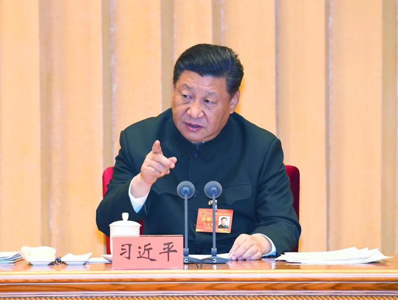 1月4日,中央军委军事工作会议在北京召开。中共中央总书记、国家主席、中央军委主席习近平出席会议并发表重要讲话。