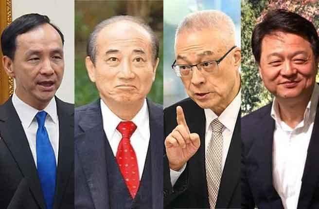 """国民党初选机制出炉,""""若韩国瑜无法参选,你支持谁代表国民党竞逐'大选'?""""民调出炉。"""