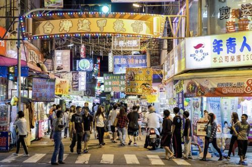 逢甲商圈。(图:台湾《联合报》/逢甲大学 提供)