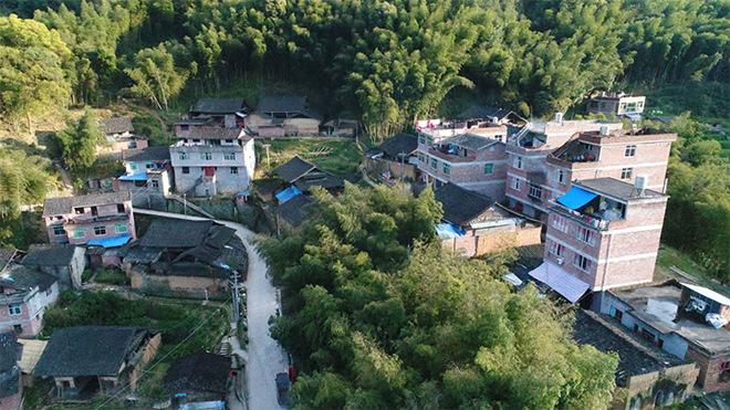 雷金玉所在的后門坪村。