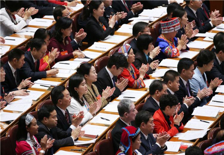 2017年10月18日,中国共产党第十九次全国代表大会在北京人民大会堂隆重开幕。 新华社记者 姚大伟 摄