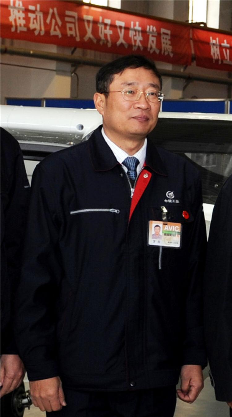 这是罗阳同志生前照片(2012年2月24日摄)。 新华社记者 李钢 摄