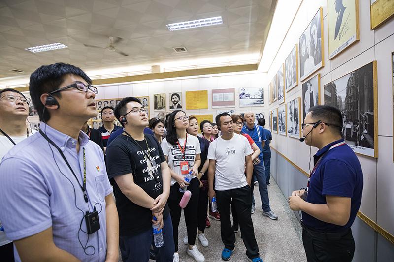 学员参观瞿秋白烈士纪念馆