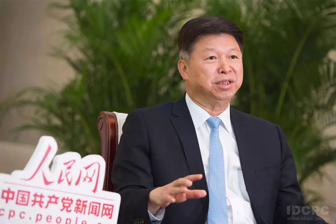 中联部部长宋涛接受人民网·中国共产党新闻网独家专访(中联部供图)