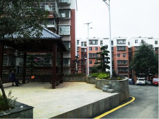 白云区以问题为导向,着力改善居民群众的生活环境,图为改善后的庆春街小区。