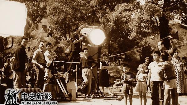 电影《风筝》拍摄现场