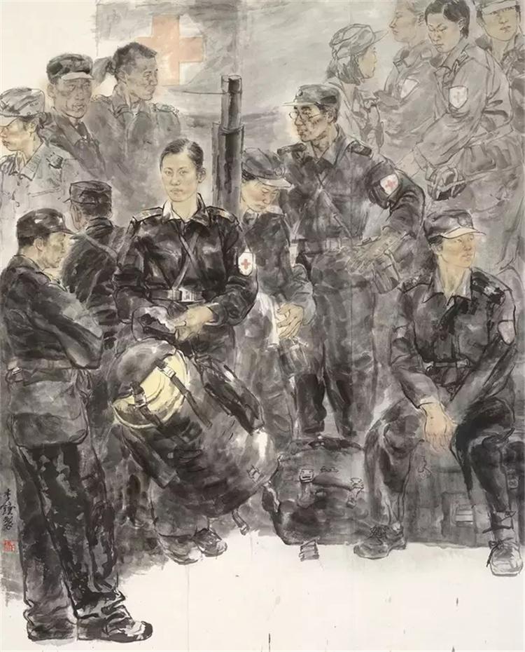 《青春物语》 李钟 中国画